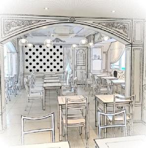 """เหมือนกับหลุดเข้าไปในภาพวาด ! """"2D Cafe"""" คาเฟ่การ์ตูนสองมิติชิค ๆ น่าเช็คอินในชินจูกุ"""