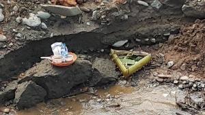 จนท.ระดมคนกว่าร้อยเดินเท้า-ล่องเรือค้นหาสาวทุ่งช้าง เหยื่อน้ำป่าซัดจมหายข้ามวันข้ามคืน