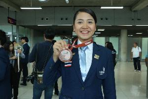 ต้อนรับอบอุ่น 25 เยาวชนไทยยอดฝีมือแรงงาน หลังคว้า 2 เหรียญทองแดง และ 12 รางวัลยอดเยี่ยมเวทีนานาชาติ
