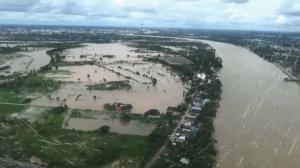 น้ำท่วมจ.อุบลราชธานี ยังไม่คลี่คลาย ล่าสุดผวจ.ประกาศเขตภัยพิบัติน้ำท่วม 3 อำเภอ