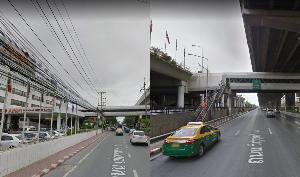 ใครรับผิดชอบกันแน่? สะพานลอยเชื่อมสนามบินดอนเมือง-โรงแรมอมารีฯ สุดโทรม