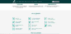 เว็บไซต์ AIforthai.in.th มีเมนูพื้นฐานให้ได้เลือกใช้งาน