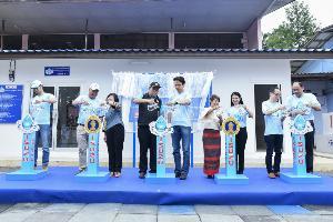 อีซูซุให้น้ำ..เพื่อชีวิต มอบโครงการน้ำดื่มสะอาด รร.บ้านสองแพรก