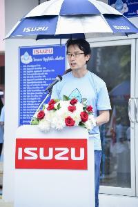 โทชิอากิ มาเอคาวะ กรรมการผู้จัดการ บริษัท ตรีเพชรอีซูซุเซลส์ จำกัด