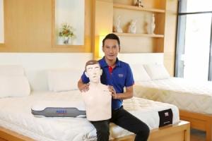 """""""เลย์เทกซ์"""" พัฒนาหุ่น CPR จากยางพารา ทดแทนนำเข้าจากต่างประเทศ"""