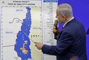 """ร้อนฉ่า! """"เนทันยาฮู"""" กร้าวผนวกพื้นที่บางส่วนของเวสต์แบงก์ หากชนะเลือกตั้งอิสราเอล"""