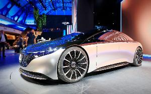"""รถพลังไฟฟ้ายุคหน้า อวดโฉมงาน """"แฟรงก์เฟิร์ต มอเตอร์โชว์ 2019"""""""