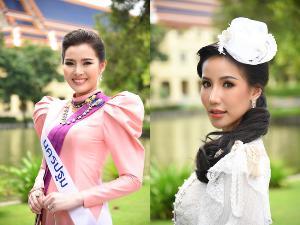"""(คนขวา) """"ฤาชนก มีแสง"""" ผู้ประกาศข่าว สถานีวิทยุโทรทัศน์แห่งประเทศไทย ช่อง NBT"""
