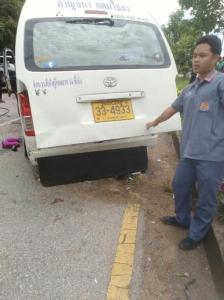เผยรายชื่อผู้บาดเจ็บ-เสียชีวิตจากอุบัติเหตุรถตู้โดยสารชนเก๋งบนทางหลวงสระแก้ว-อรัญประเทศ