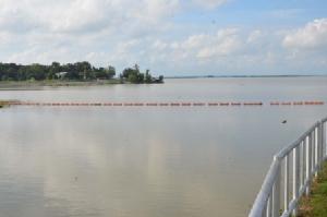 เขื่อนลำปาวหน่วงน้ำช่วยพื้นที่น้ำท่วมตอนล่าง กักเก็บน้ำได้ 74% ใช้ได้ยาวถึงหน้านาปี 63
