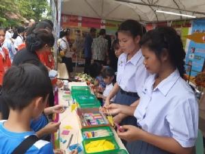 """ร้อยแก่นสารสินธุ์โชว์ผลงานสะเต็มศึกษาในงาน """"Thailand STEM Festival 2019"""""""