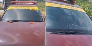 หนุ่มใหญ่หัวร้อนถ่ายคลิปโต้ ตร.ทางหลวง รถไม่ติดป้ายวงกลม เปิดกฎหมายพบเป็นรถได้รับการยกเว้น