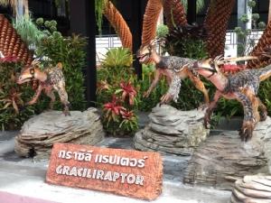 สวนนงนุชพัทยาเปิดโครงการไทยเที่ยวไทย พร้อมเปิดตัวไดโนเสาร์อันดับที่ 166 กราซิลีแร็ปเตอร์