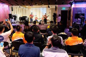 คอนเสิร์ตเล็ก ๆ จากโครงการสามัคคีโฟล์คซอง