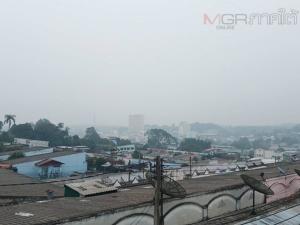 หมอกควันไฟป่าอินโดนีเซียยังปกคลุมเบตง เตือนประชาชนระวังปัญหาสุขภาพ