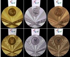 """เกาหลีใต้โวยญี่ปุ่น เหรียญโตเกียวพาราลิมปิกเหมือน """"ธงอาทิตย์อุทัย"""""""