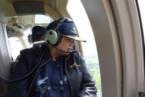 """ยังแล้งหนัก! บินสำรวจพบเขื่อนบุรีรัมย์มีน้ำน้อยมากไม่ถึง 10% นาข้าวขาดน้ำ เร่งทำ """"ฝนหลวง"""" ช่วย"""