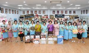 สภาสตรีแห่งชาติฯรับบริจาคสิ่งของออกร้านงานกาชาดประจำปี62