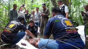 ช้างป่าตกมันบุกวัดใน อ.บ่อทอง จ.ชลบุรี ใช้งาแทง กระทืบคนดูแลวัดดับอนาถ