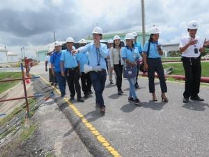 เสร็จไปแล้วกว่า 90% โครงการวางท่อผลิตภัณฑ์ขนาด 20 นิ้ว คลังน้ำมันศรีราชา