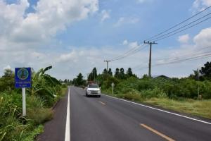 ทช.ผุดถนนยางพาราสาย ลบ.4021 ทางลัดเชื่อมอยุธยา-ลพบุรี