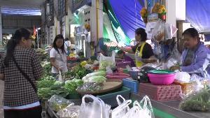 ผักชีแพงหูฉี่รับเทศกาลกินเจ ตลาดอุทัยฯ ขาย กก.ละ 140 บาทแล้ว