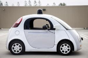 ต้นแบบรถยนต์ที่ไม่มีคนขับของ Google