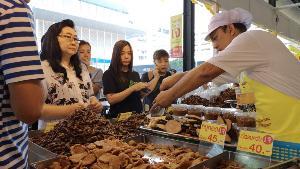 เทศกาลกินเจปีที่ 18 ลานบุญกินเจพันเมนูอำเภอปากเกร็ด