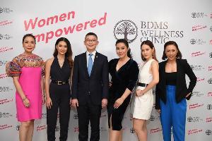 """บีดีเอ็มเอส เวลเนส คลินิก ชวน 5 ผู้หญิงไอคอน เปิดตัวแคมเปญ """"Women Empowered"""""""
