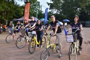 """แบงก์บัวหลวงจัดเวิร์กชอป """"Road to Bangkok Bank CycleFest"""" เรียนรู้เทคนิคการปั่นจักรยาน ผสานการท่องเที่ยววิถีชุมชนบางกะเจ้า"""