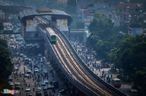 รองนายกฯ เวียดนามจี้รถไฟฟ้าสายแรกของเมืองหลวงต้องเริ่มวิ่งภายในปีนี้