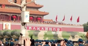 DF-41 เป็นขีปนาวุธนำวิถีพิสัยไกลข้ามทวีป ทรงพลานุภาพที่สุดของประเทศจีน  ในขบวนพาเหรดของกองทัพปลดแอกประชาชนจีนระหว่างพิธีฉลองวาระครบรอบ 70 ปี การสถาปนาสาธารรัฐประชาชนจีน ณ จัตุรัสเทียนอันเหมิน กรุงปักกิ่ง เมื่อวันที่ 1 ต.ค. 2019 (ภาพโดย MGR ONLINE)