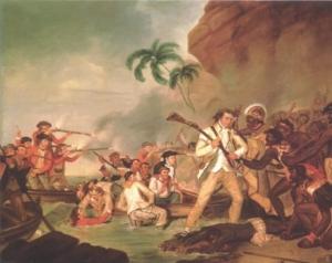 """อังกฤษแสดง """"ความเสียใจ"""" ต่อเหตุสังหารชาวเมารี หลังกัปตันคุกขึ้นฝั่ง"""