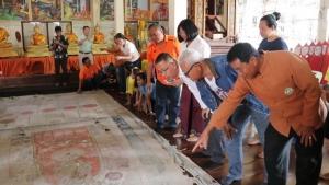 ตะลึง! พบผ้าพระบฏเก่าแก่ที่สุดในเมืองไทยที่เชียงคาน