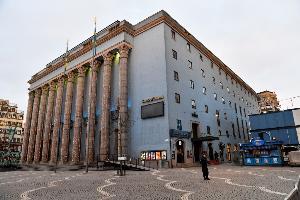 Concert Hall สต็อคโฮล์ม สวีเดน (Anders Wiklund / TT NEWS AGENCY / AFP)
