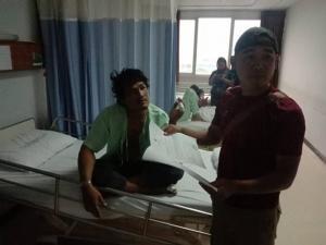 ป.รวบหนุ่มสิงห์บุรี หนีคดียานรก ไปประสบอุบัติเหตุต้องนอนโรงพยาบาลจนถูกจับ