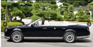 เผยโฉมรถยนต์พระที่นั่ง ฉลองการขึ้นครองราชย์พระจักรพรรดิญี่ปุ่น (ชมคลิป)