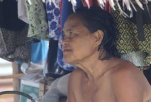 นางโซะ ขันทอง อายุ 66 ปี  แม่ของมีมี่