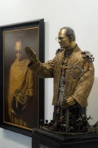 """กลุ่มศิลปาศรีถวายความจงรักภักดี จัดนิทรรศการ """"กษัตริยมหาราชในดวงใจไทยนิรันดร์""""ปี2"""