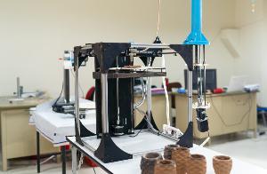 ดินเผาด่านเกวียนพรีเมี่ยมขึ้นรูปจากเทคโนโลยี 3 มิติ