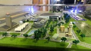 """""""ถาวร"""" จี้ผู้รับเหมาสร้างอาคารสนามบินขอนแก่นเสร็จตามสัญญา ปีกว่าคืบไม่ถึง 30%"""
