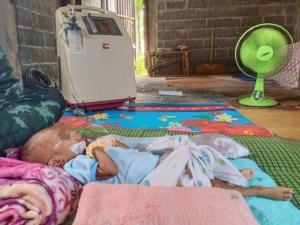 วอนช่วย! แม่ชาวศรีสะเกษยากจน มีลูก 4 คน ป่วยโรคลิ้นหัวใจรั่ว 3 เสียชีวิตแล้ว 2 ราย