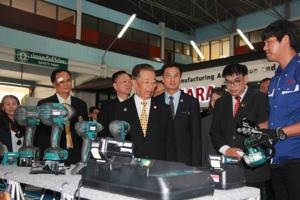 รมว.แรงงานเปิดสถาบันพัฒนาบุคลากรสาขาการผลิตอัตโนมัติ รับการลงทุนใน EEC
