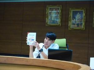 วิทยากรจากสำนักงานควบคุมการใช้สารต้องห้ามทางการกีฬา สังกัดการกีฬาแห่งประเทศไทย
