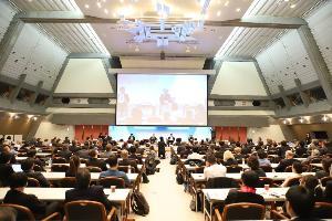 ช่วง Plenary Session ระหว่างประชุม STS Forum ครั้งที่ 16