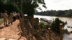 พ่อเมืองอุบลสั่งโยธาธิการจังหวัดเร่งซ่อมตลิ่งพัง 7 จุด