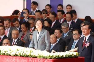 """ผู้นำไต้หวันปฏิเสธข้อเสนอ """"หนึ่งประเทศ สองระบบ"""" ของจีน"""