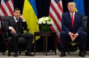 """ผู้นำยูเครนปัดโดน """"ทรัมป์"""" จี้สืบสวนลูกชายไบเดน แลกความช่วยเหลือทางทหาร"""