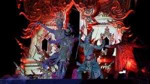 นางรำ 672 ชีวิตรำบวงสรวงบูชาพญานาค เปิดการแสดงตำนานบั้งไฟพญานาค