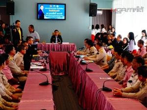 รมช.มหาดไทยลงตรวจเยี่ยมภารกิจของกรมโยธาธิการและผังเมือง ในพื้นที่ จ.พัทลุง